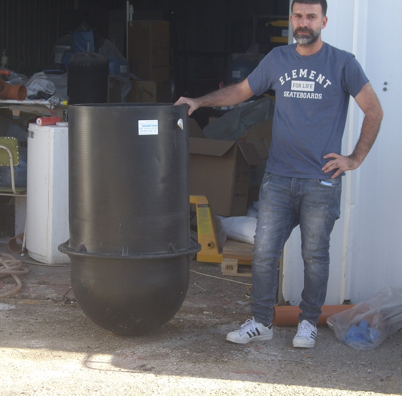 Oil Water solids Seperator Tank 240 liters picture atrob hametaher
