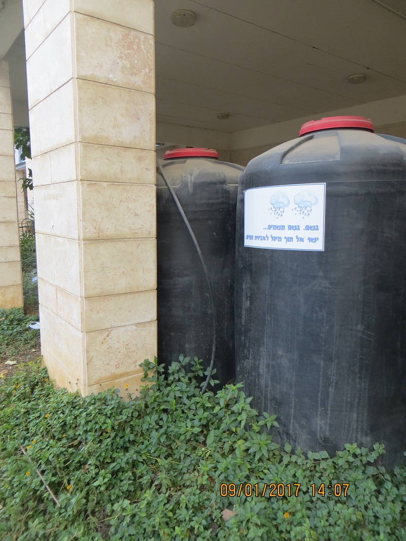 rainwater harvesting and storage and delivery system